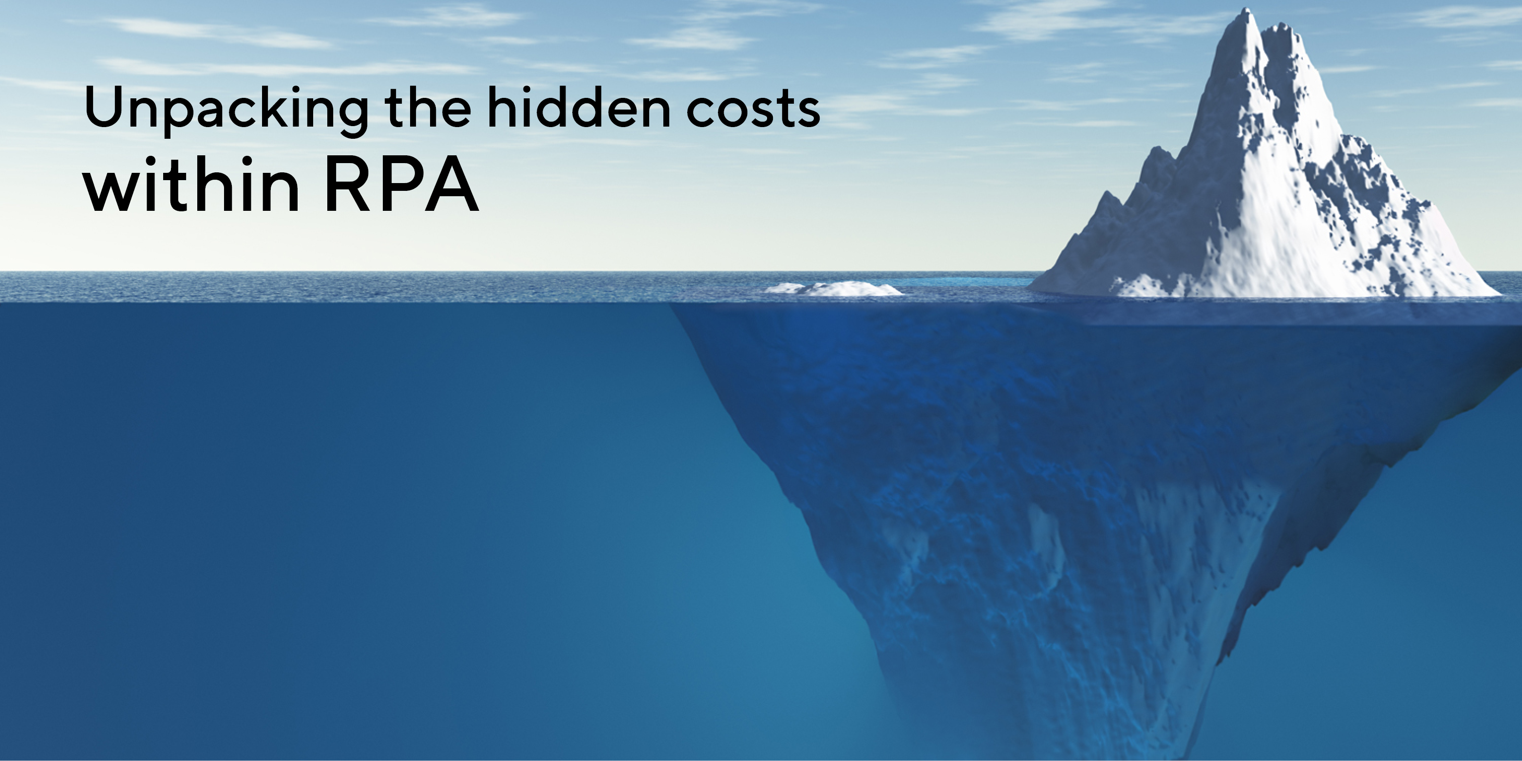 Calculating RPA's total cost of ownership